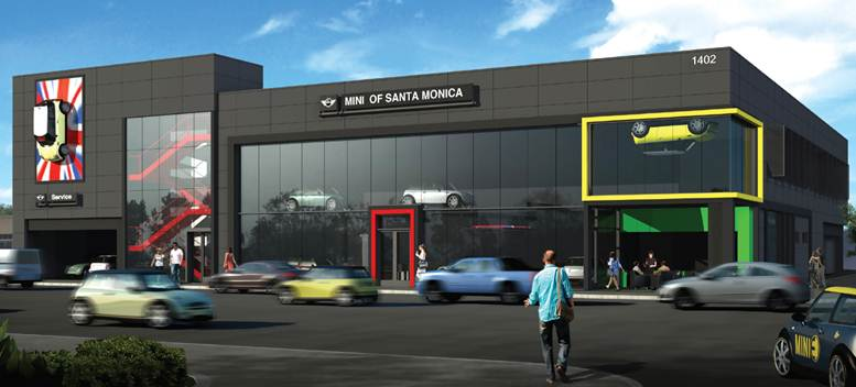 Development agreement for automobile dealership mini for Honda dealer santa monica