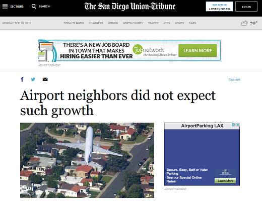 Article Airport Neighbors Did Not Expect Such Growth