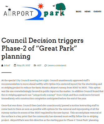 Article Council Decision Triggers Phase-2 of Great Park Planning