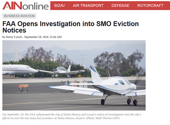 Article FAA Opens Investigation into SMO Eviction Notices
