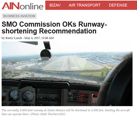 Article SMO Commsion OKs Runway - Shortening Recommendation