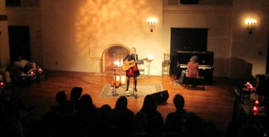 Amy Raasch at Fireside