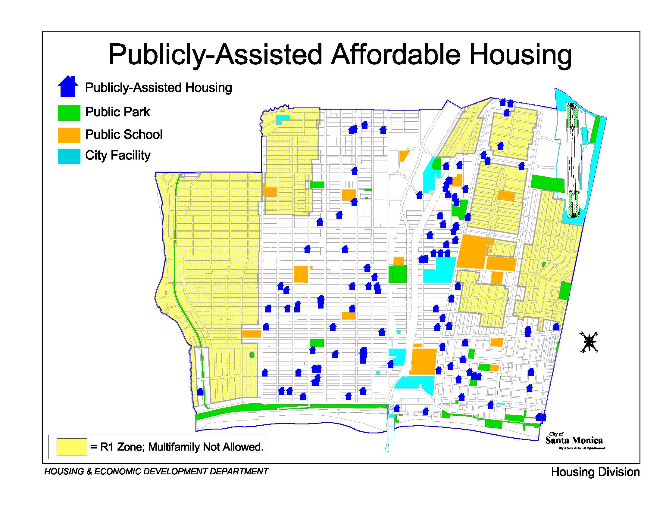 Publicly Assisted Housing Map