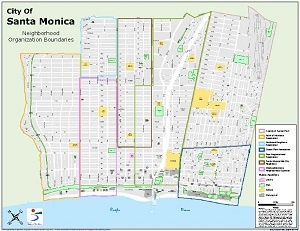 Santa Monica Information Systems - GIS Map Catalog