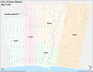 santa monica information systems gis map catalog