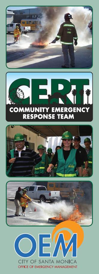 CERT Brochure Cover