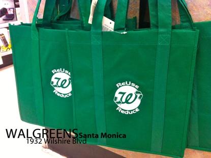 santa monica ose reusable bag giveaway events
