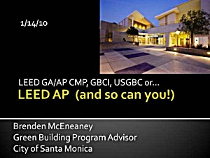 LEED CMP Overview cover