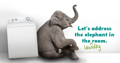 Elephant Laundry Banner Wide 2