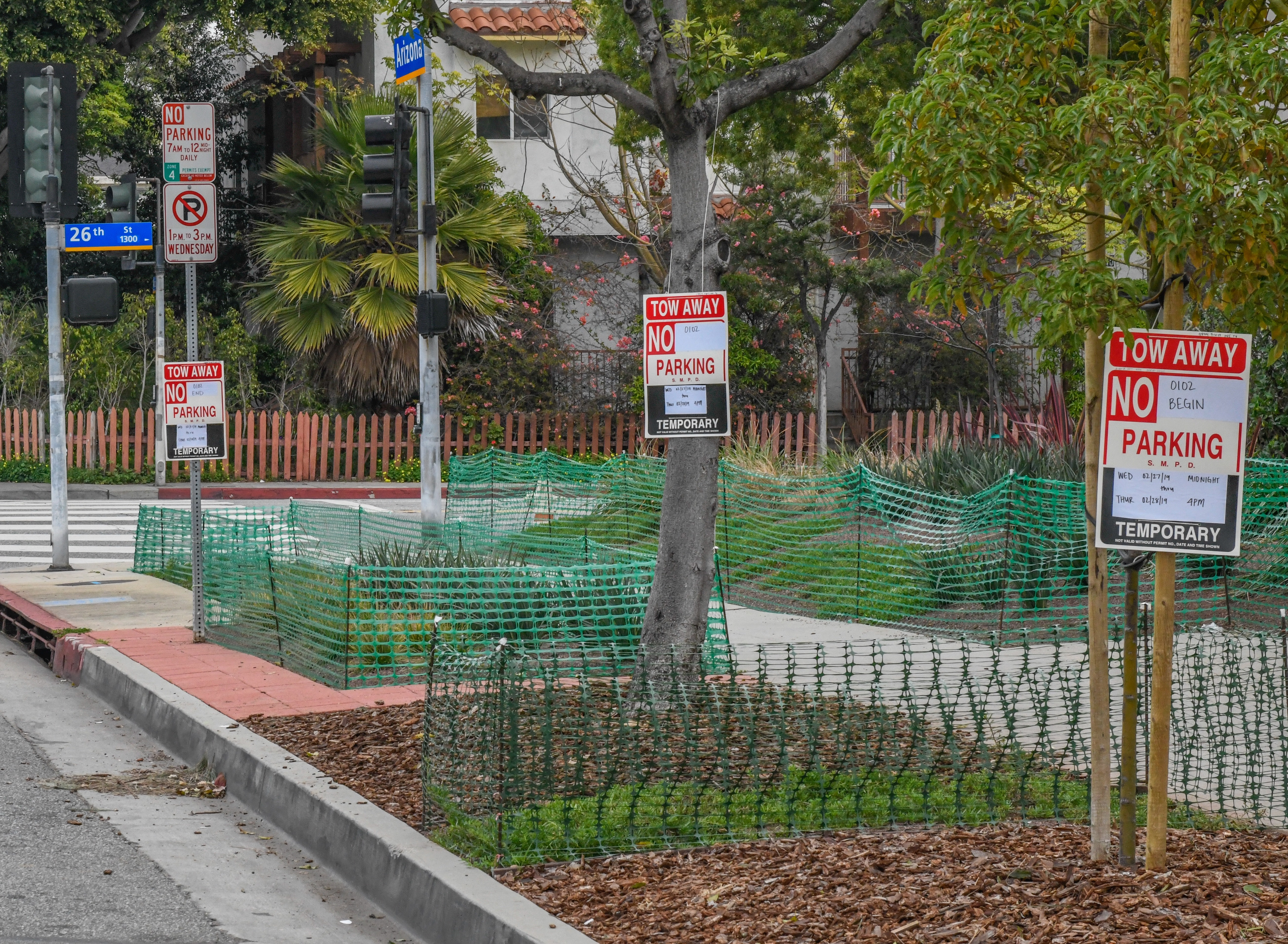 Temporary No Parking Signs - Planning & Community
