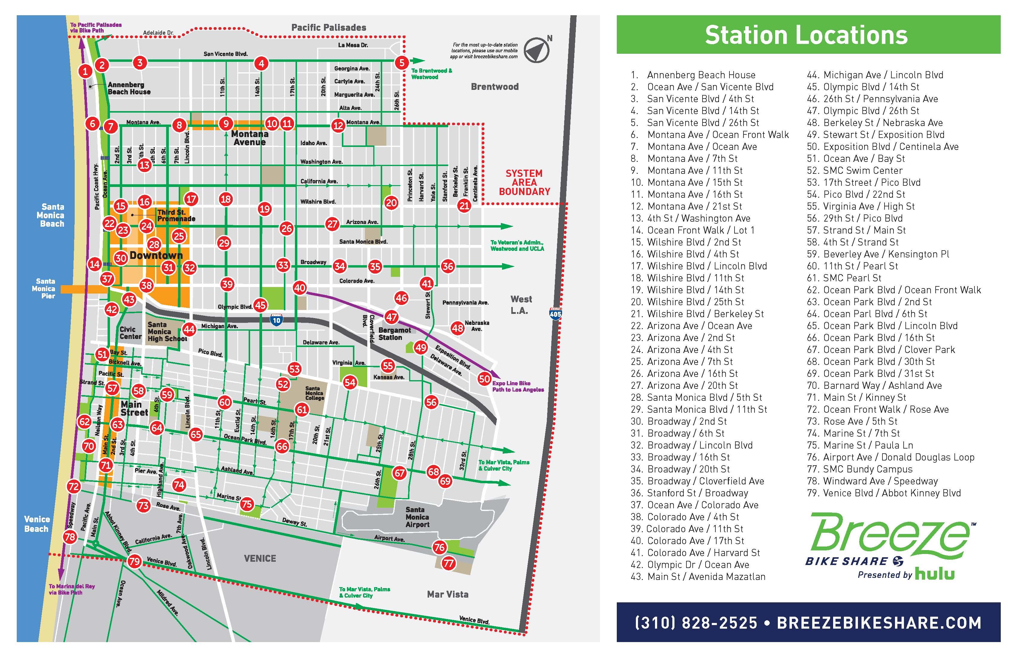 Bike Share Planning  Community Development City Of Santa Monica - Los angeles zoning map