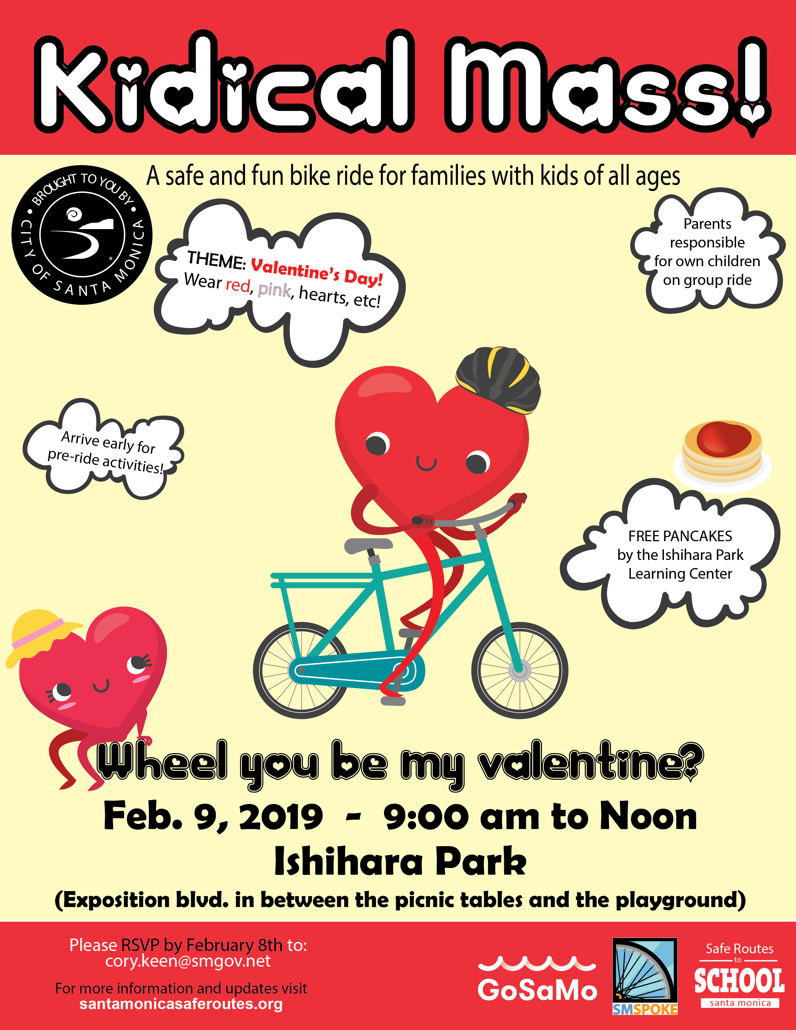 Kidical Mass Valentines Day 2019