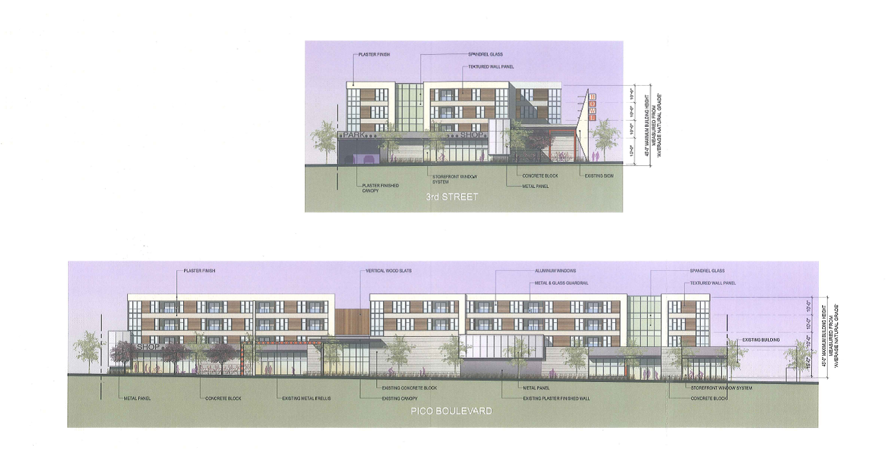 234 Pico Blvd Site Plan