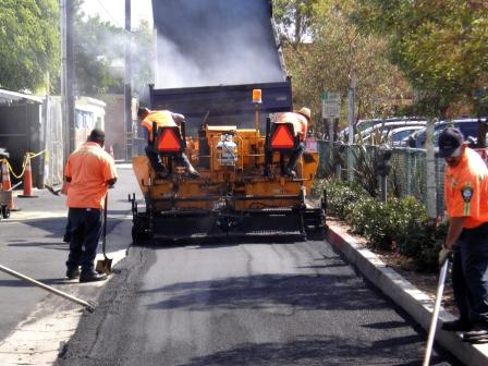 Paving an alley