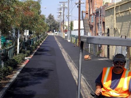 Santa Monica Public Works Alley Renewal Program