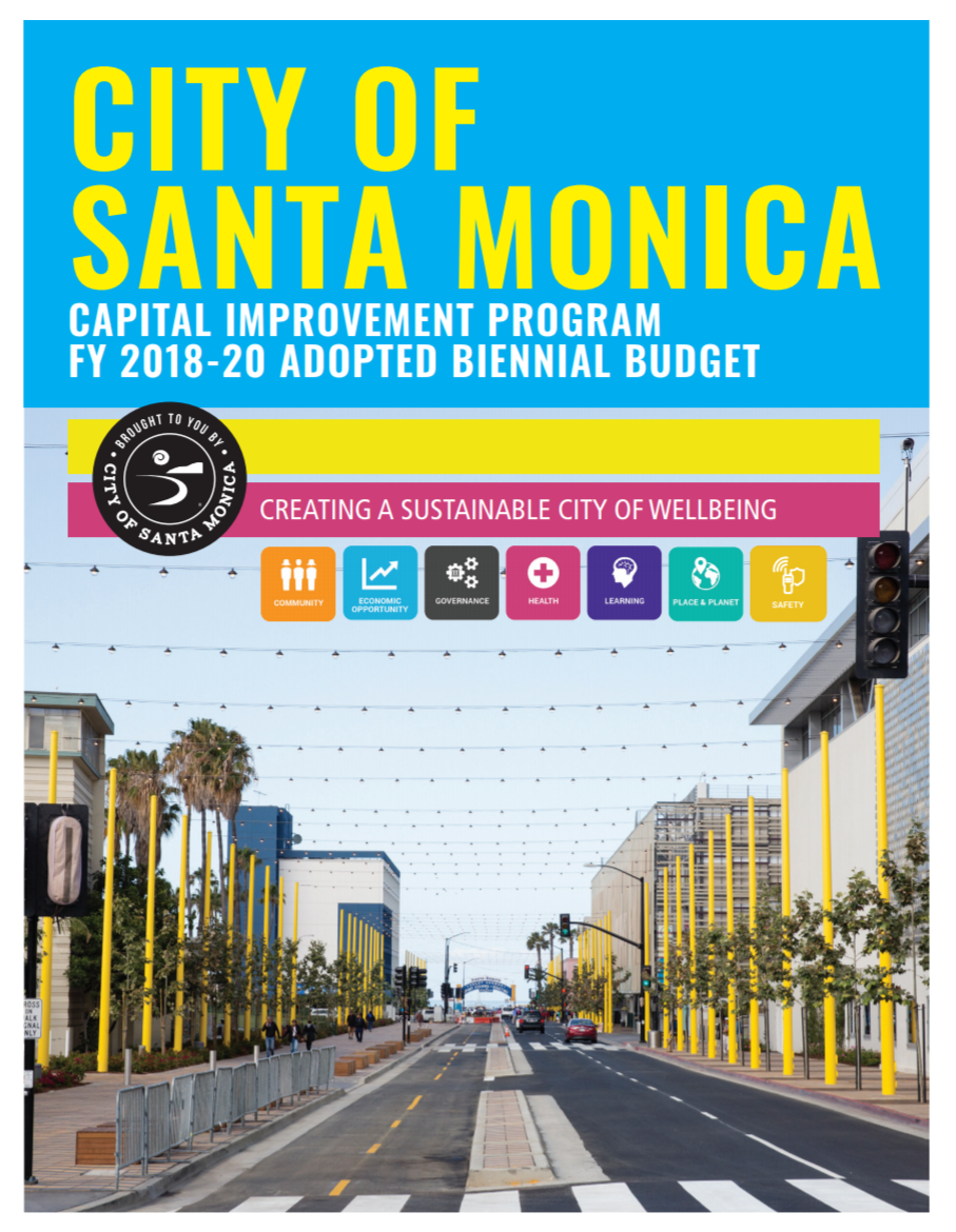Fiscal Year 2018-20 Adopted Capital Improvement Program Budget Thumbnail