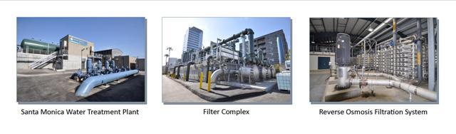 Santa Monica Public Works Santa Monica Water Treatment Plant