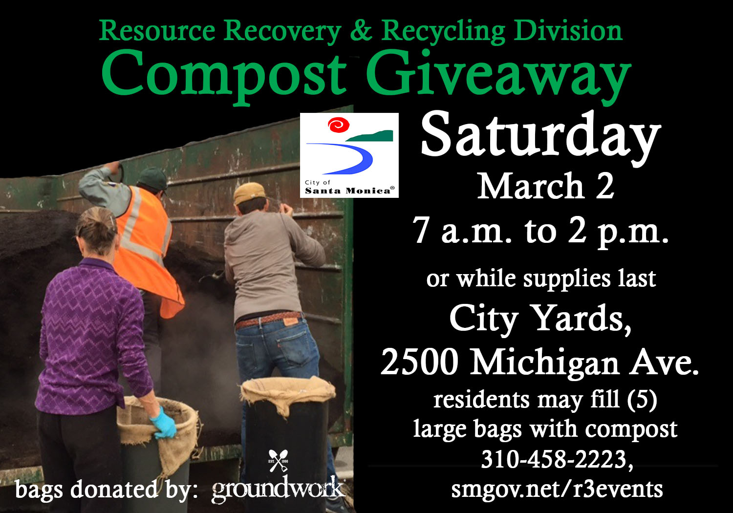 Compost Giveaway March 2