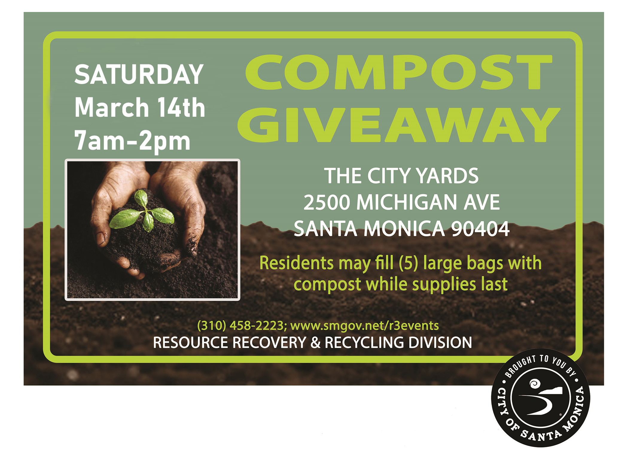 March 14 2020 compost event