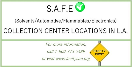 Collection Centers for Household Hazardous Waste