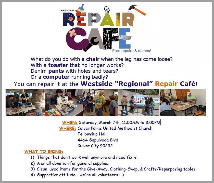 repair cafe flyer march 2020