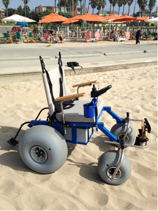 Motorized Wheelchairs Now Available On Santa Monica State