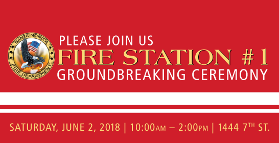 Fire Station #1 Ground Breaking Ceremony