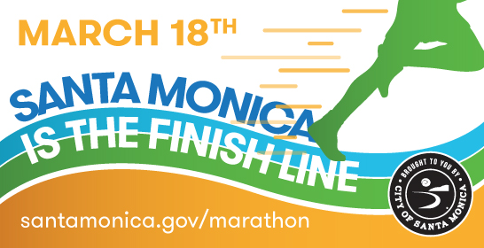Santa Monica is the Finish Line